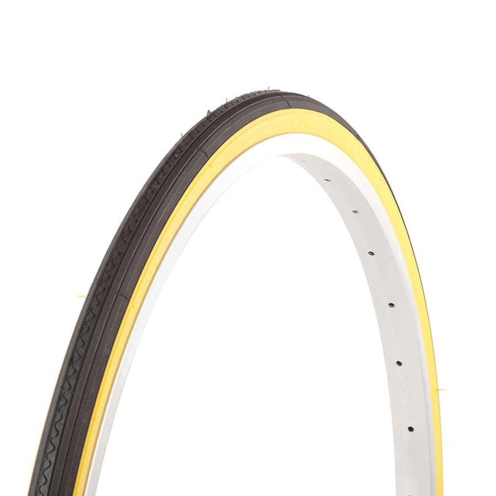"Evo Evo Dash 27x1-1/4"" Wire Bead Road Tire Tan Sidewall"