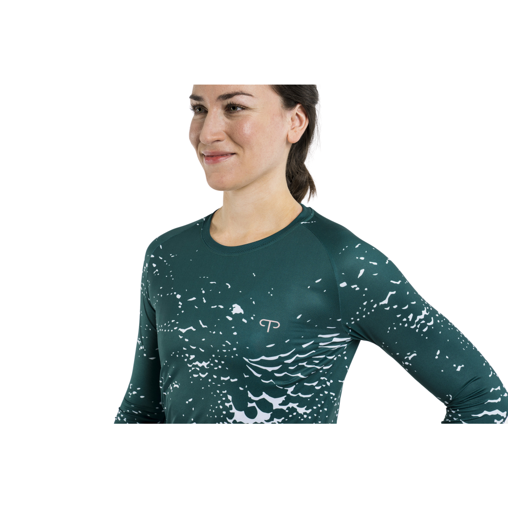 Peppermint Peppermint Trail Signature Long Sleeve Top