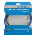 Shimano Shimano Optislick Road Shift Cable Set, Blue