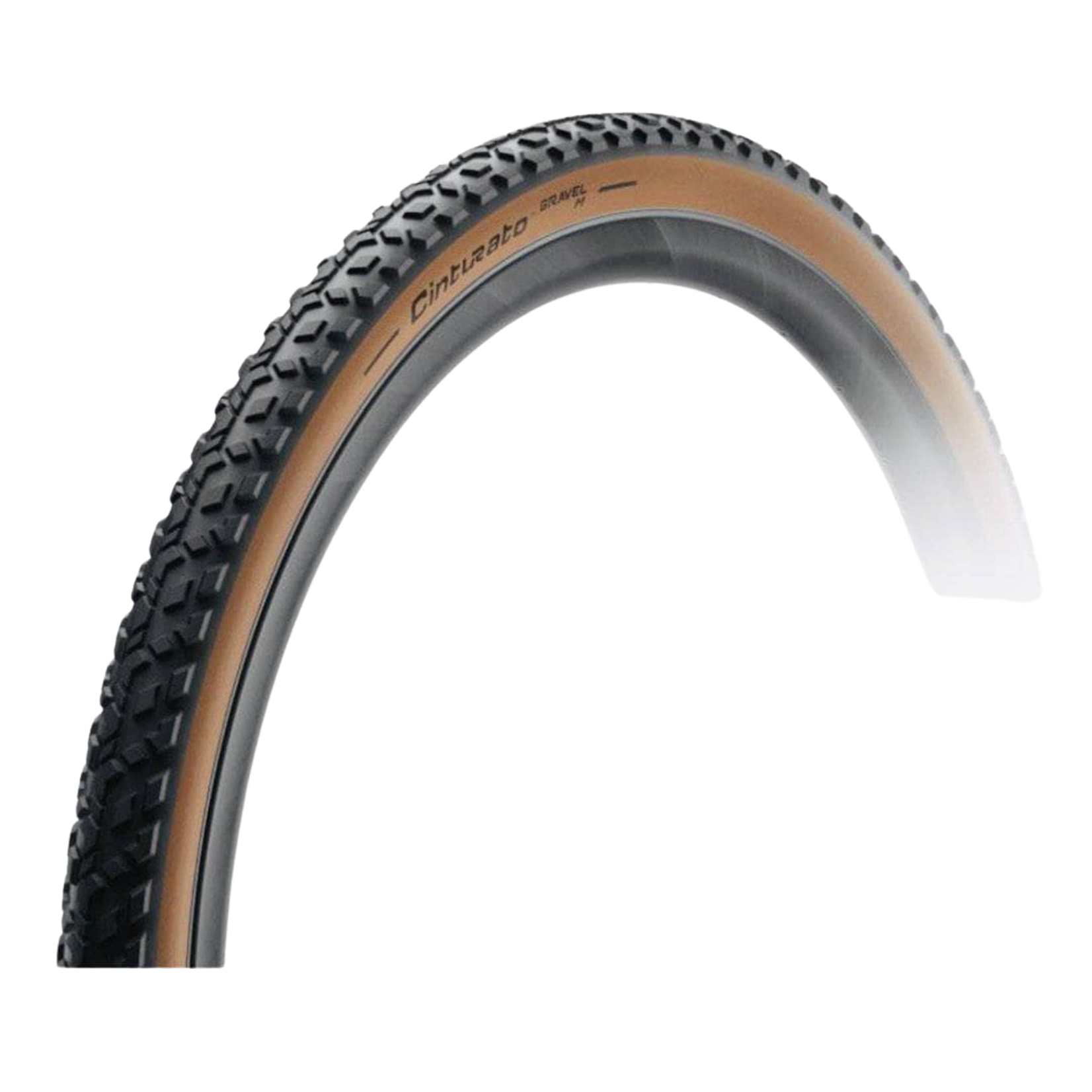Pirelli Pirelli Cinturato Gravel M 700x40c Folding Bead Tubeless Ready Tire Tan Sidewall