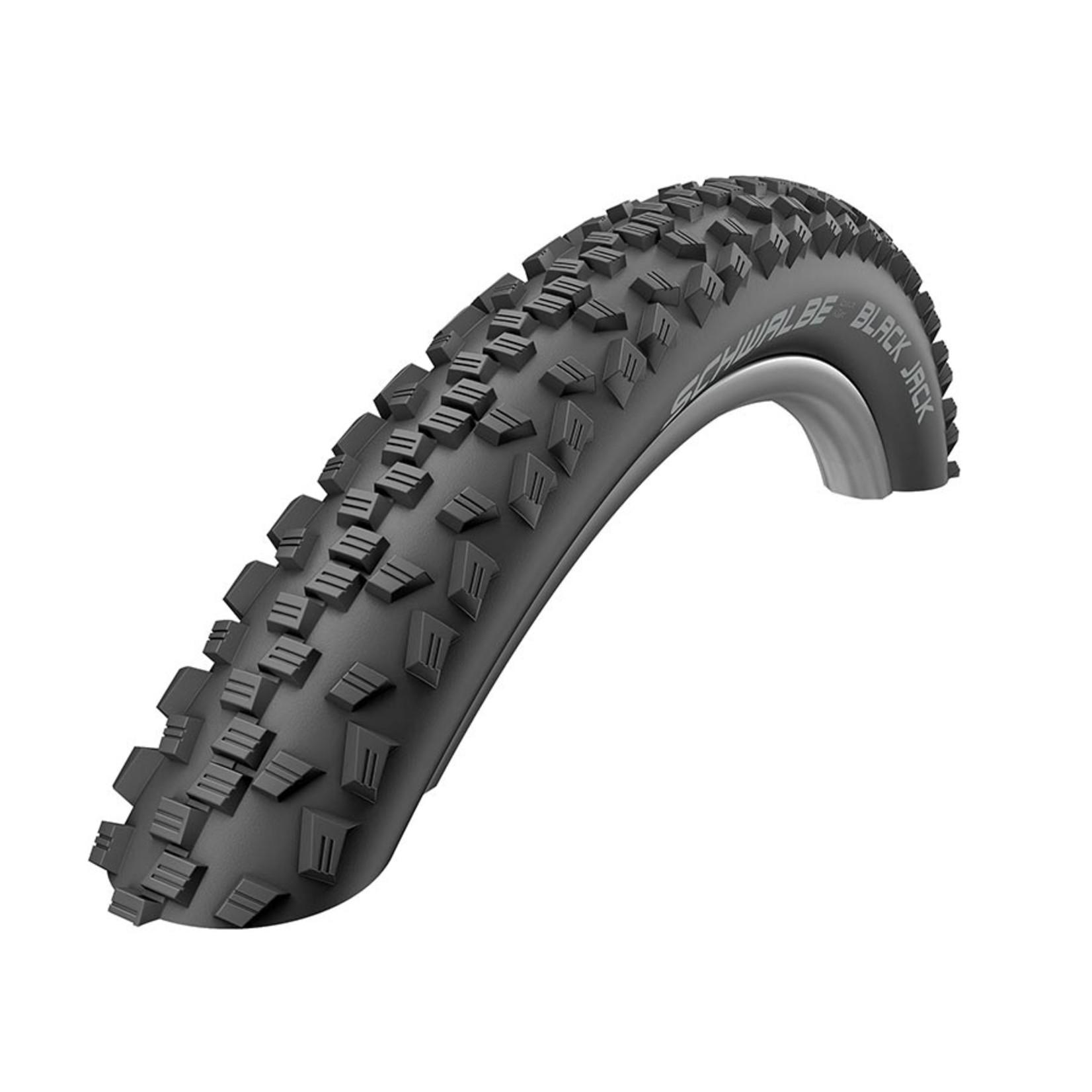 Schwalbe Schwalbe Black Jack 24x1.90 Wire Bead Tire