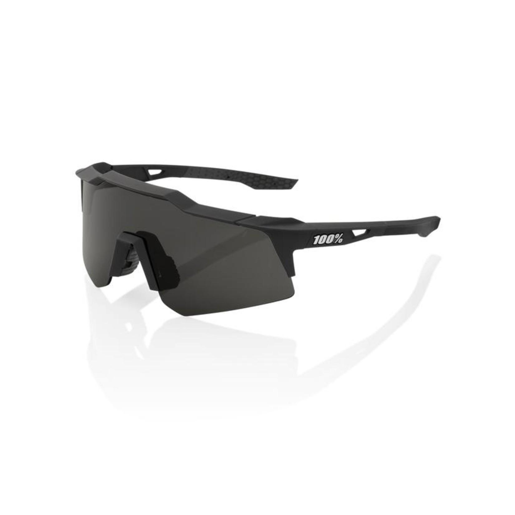 100 Percent 100% Speedcraft XS Soft Tact Black Smoke Lens