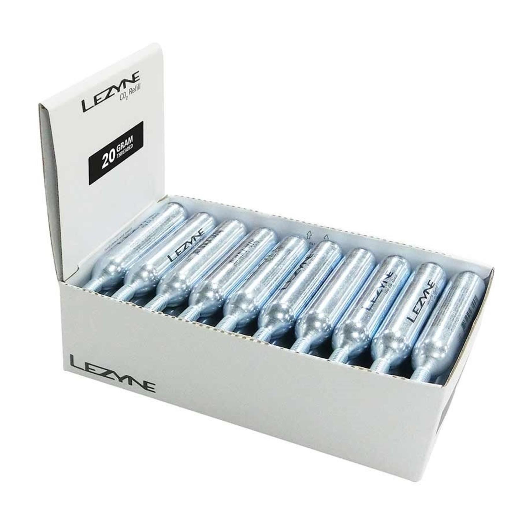 Lezyne CO2 Threaded Refill Cartridge 20g
