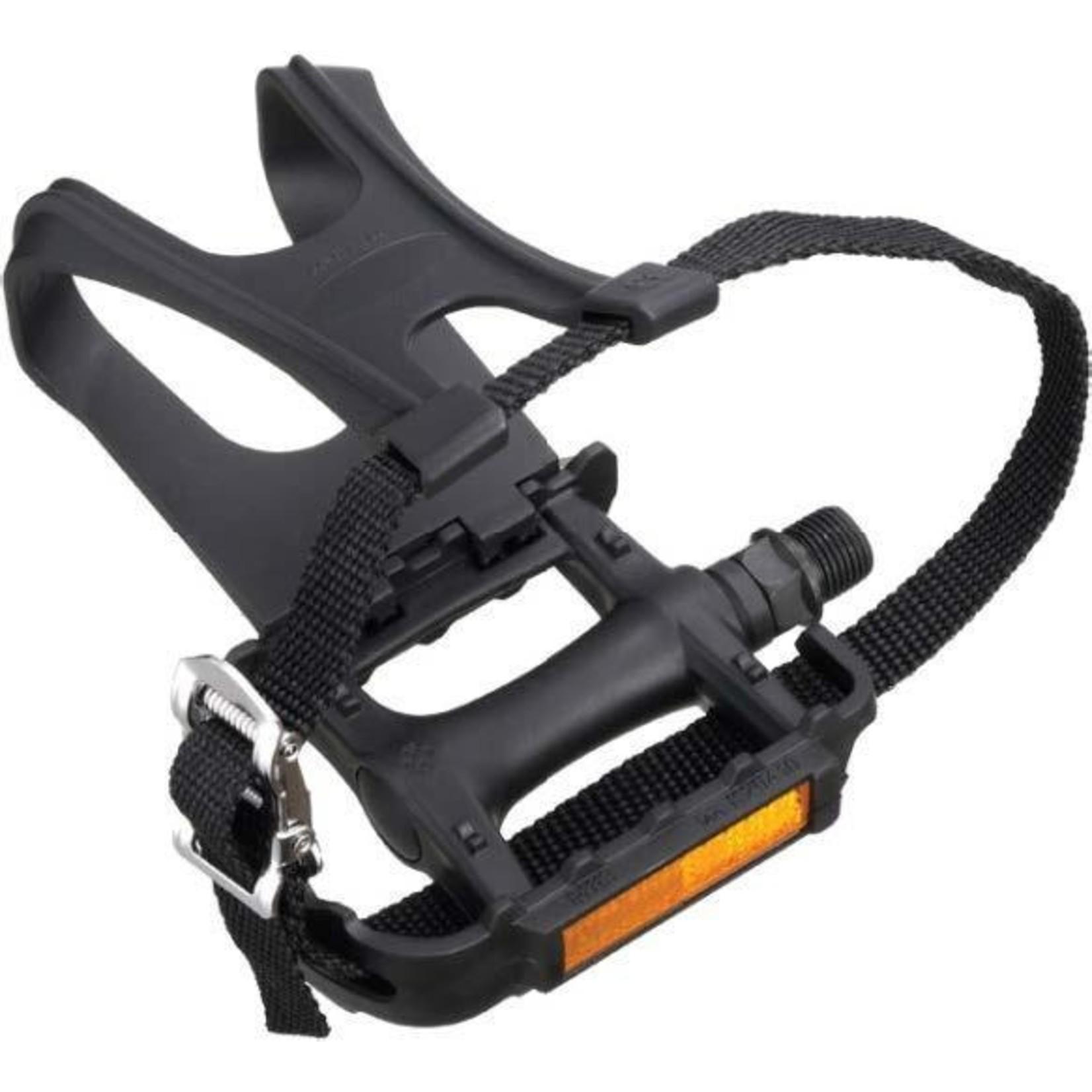 WELLGO Wellgo M141 Toe Clip Pedals