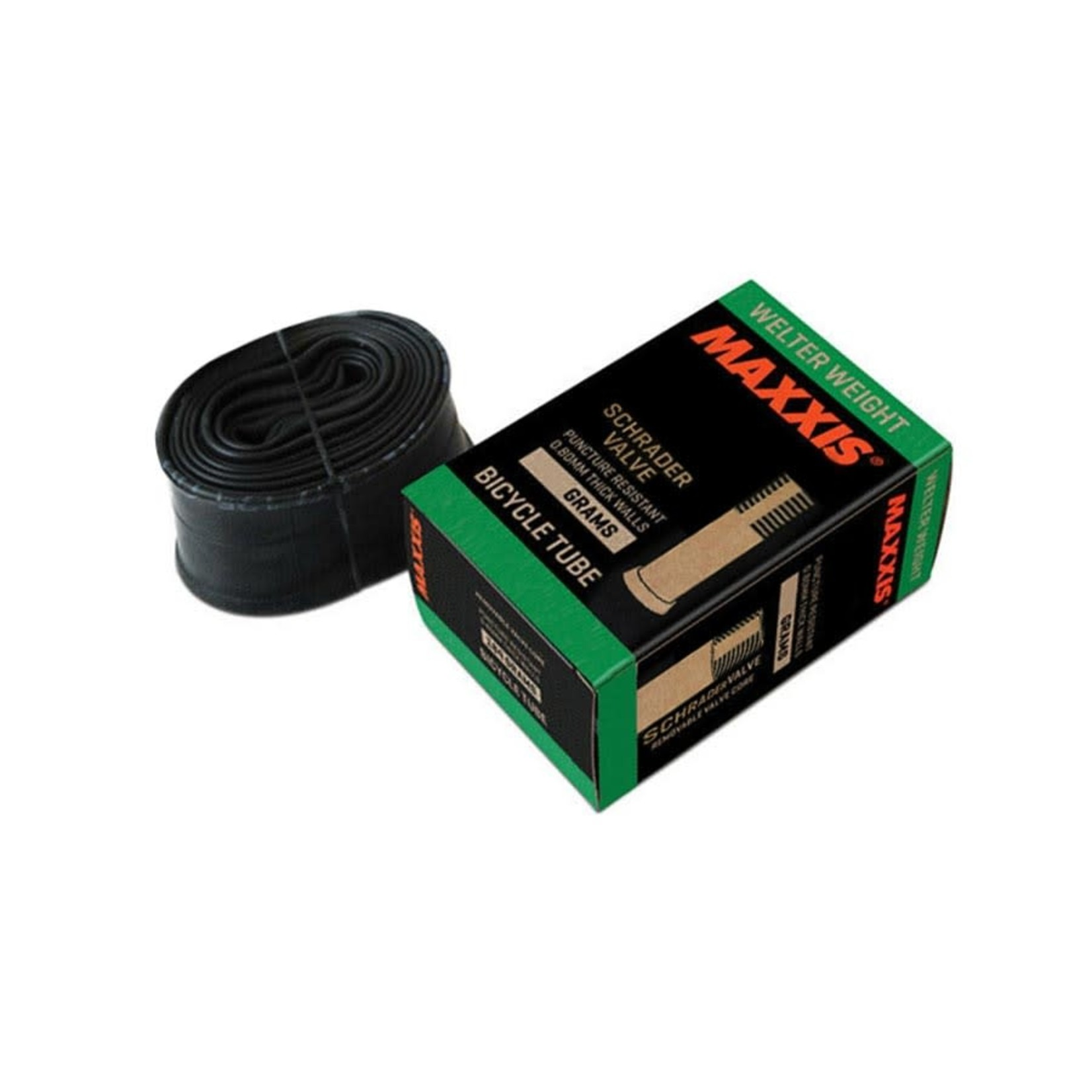 Maxxis Maxxis, Welter Weight, Tube, Schrader, Length: 48mm, 26'', 1.50-2.50