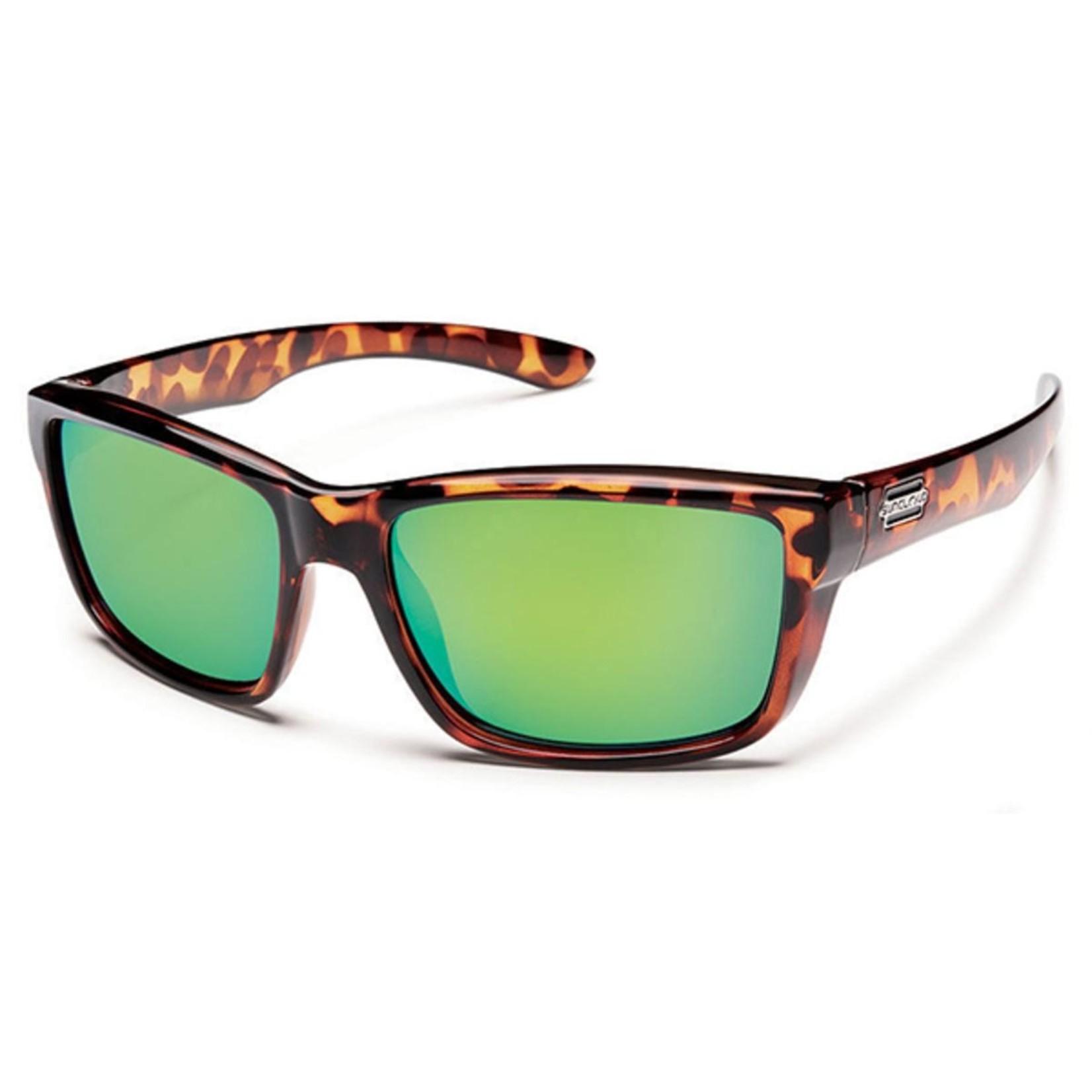 Suncloud Suncloud Mayor, Tortoise/ Polarized Green Mirror