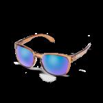 Suncloud Suncloud Loveseat Sunglasses Transparent Brown/ Purple Blue Mirror