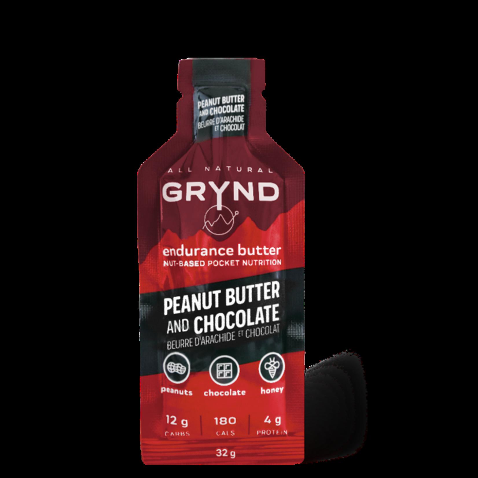 Grynd Grynd Endurance Butter, Peanut Butter & Chocolate