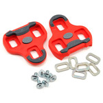 Look Kéo Grip Cleats, 9 Degrees, Red