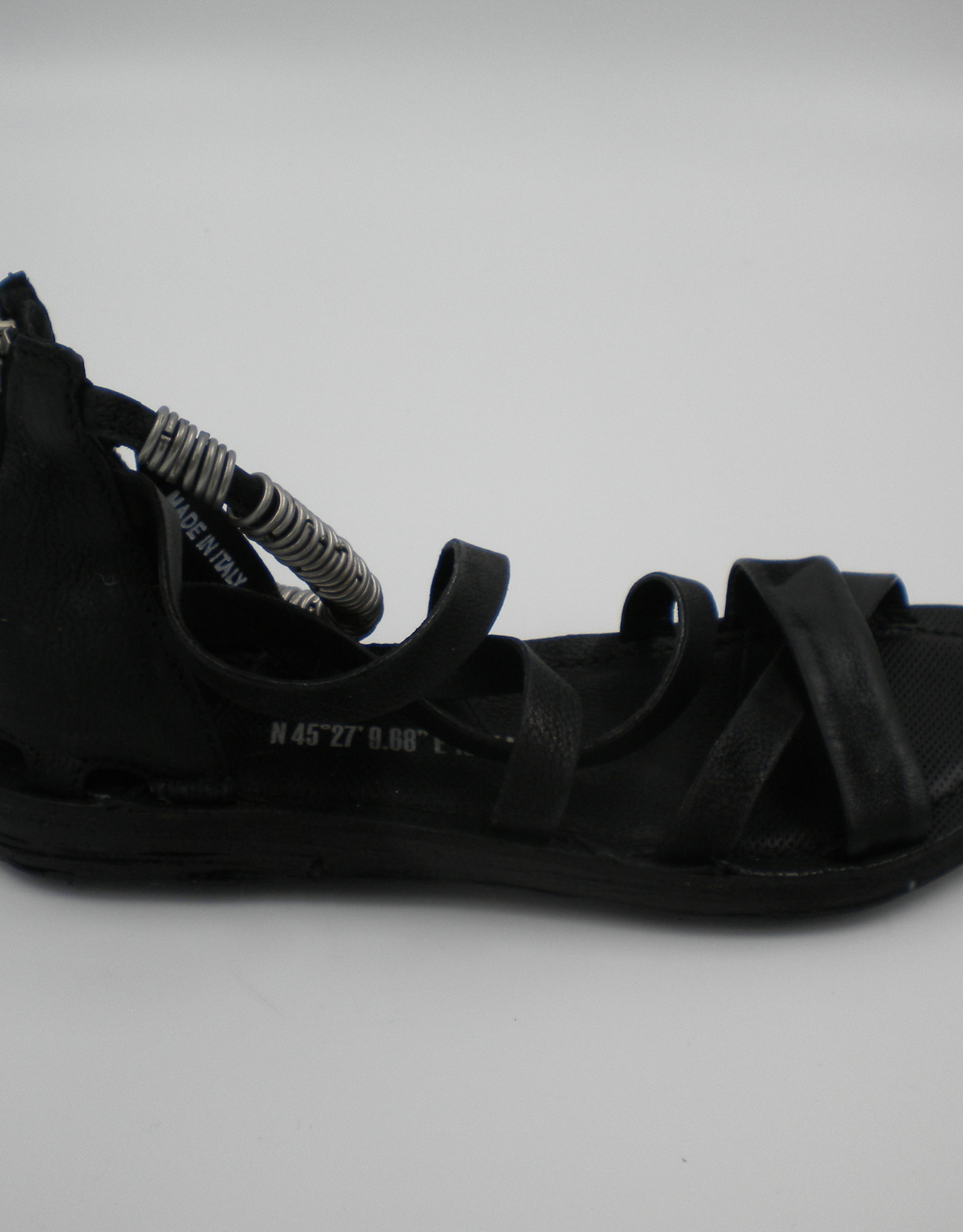 AS 98 AS 98 A16002 Black Sandal