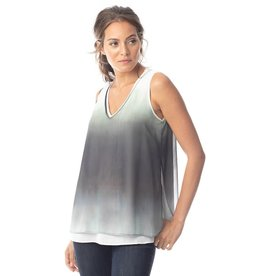 Lola and Sophie Ombre V Neck