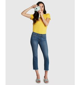 Principle Denim Optimist Mid Rise Crop