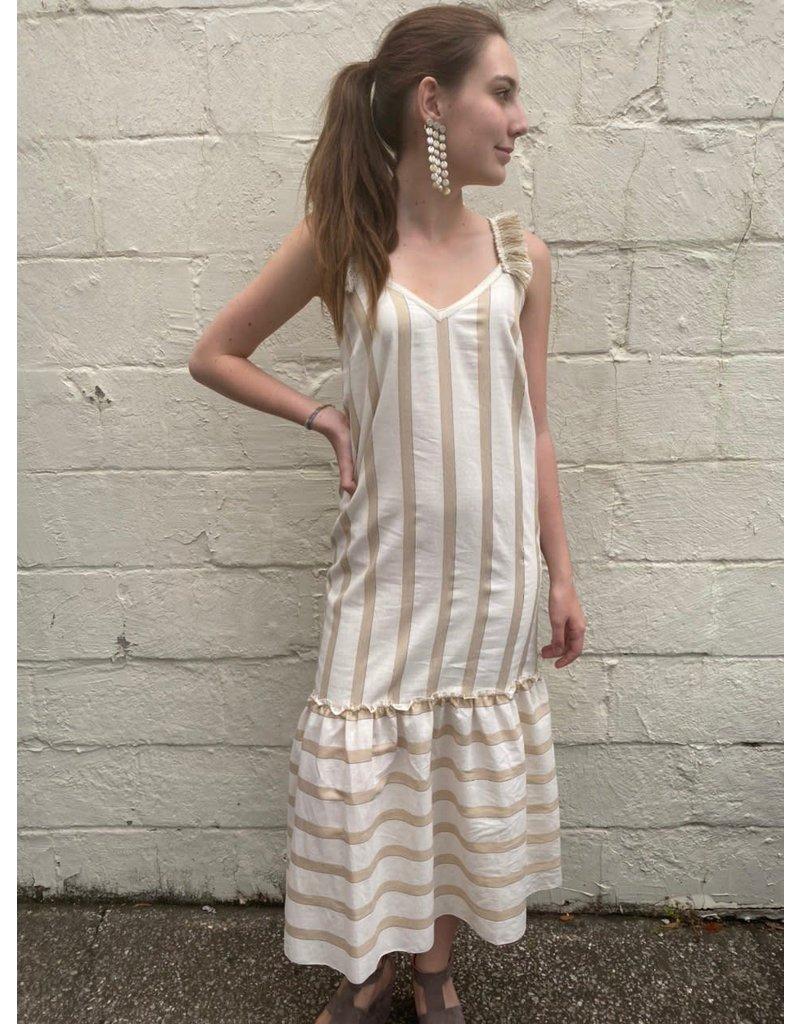 Monoplaza Stripe Maxi Dress