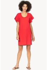 Lilla P Ruffle Sleeve Dress