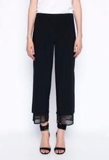 Layered Wide-Leg Flowy Pants