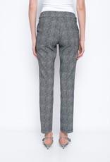 Chevron Jacquard Stud Embellished Pants