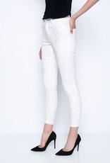 Lace Applique Jeans