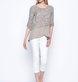 Solid Trimmed Tunic