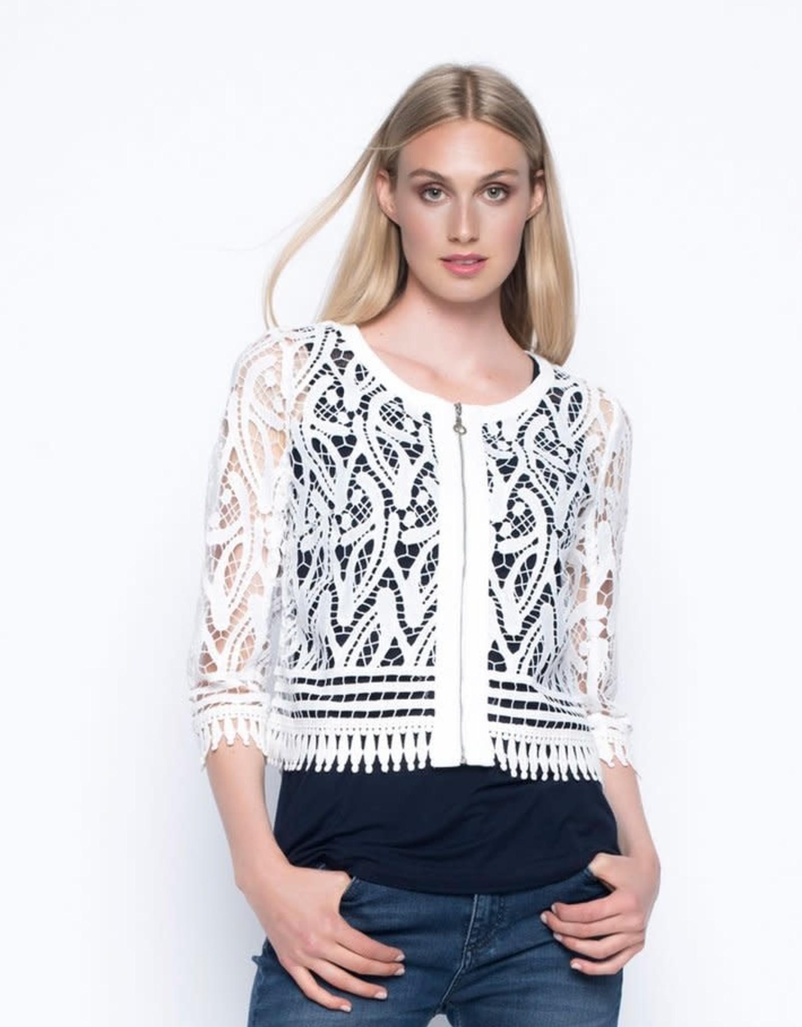 ¾ Sleeve Lace Jacket