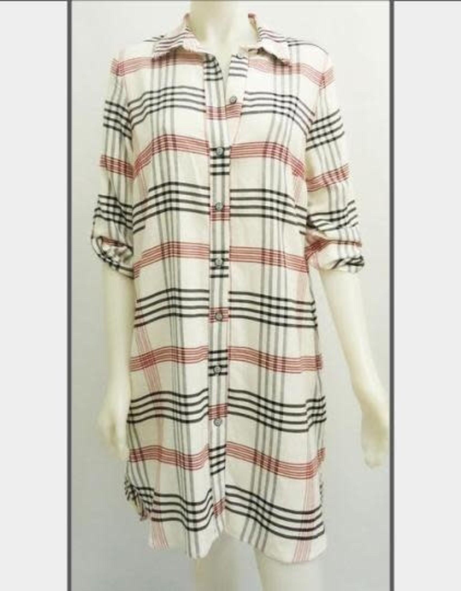 3/4 Sleeve Dress - Shirt