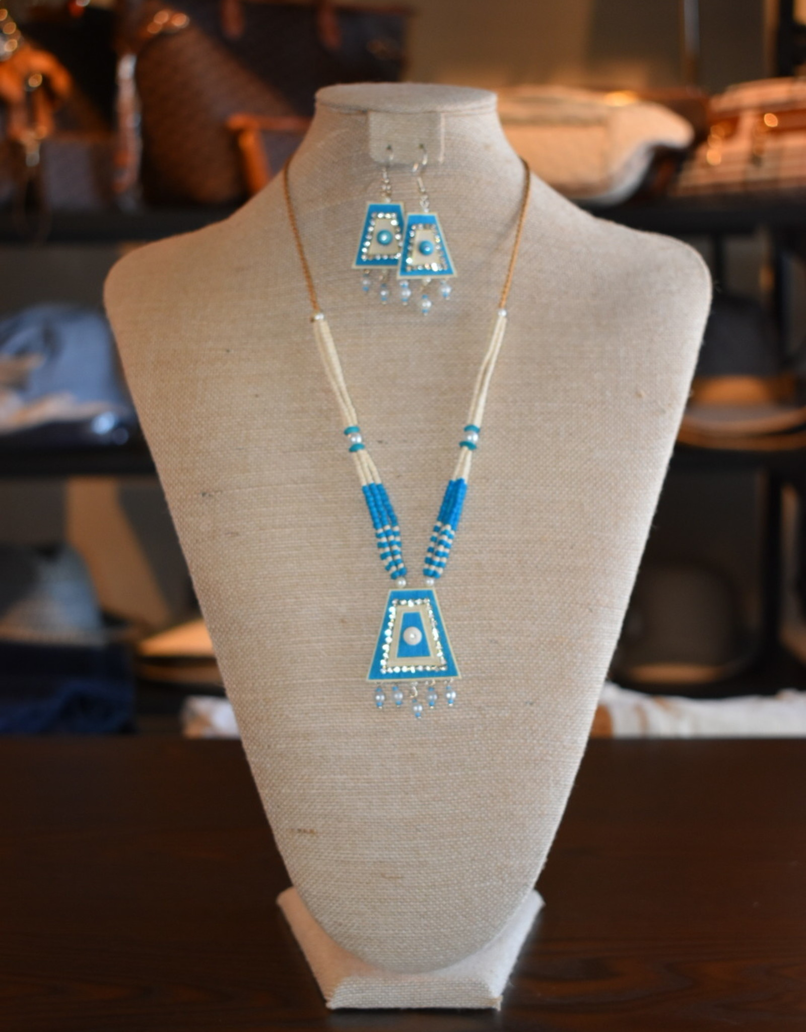 Jute Jewelry Set