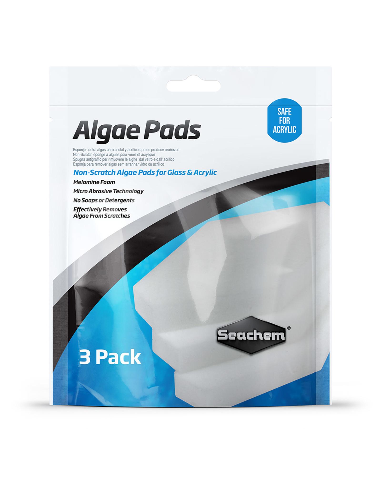 Seachem SEACHEM Algae Pad 3 pack Bag for Glass and Acrylic