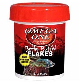 Omega One Food OMEGA ONE Betta Buffet Flakes 0.28oz