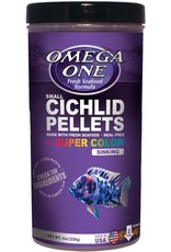 Omega One Food OMEGA ONE Cichlid Pellets Sinking Small