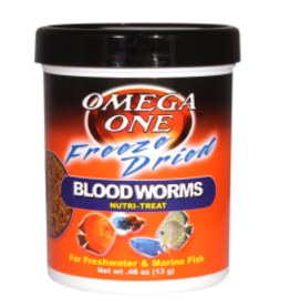 Omega One Food OMEGA ONE Freeze Dried Blood Worms