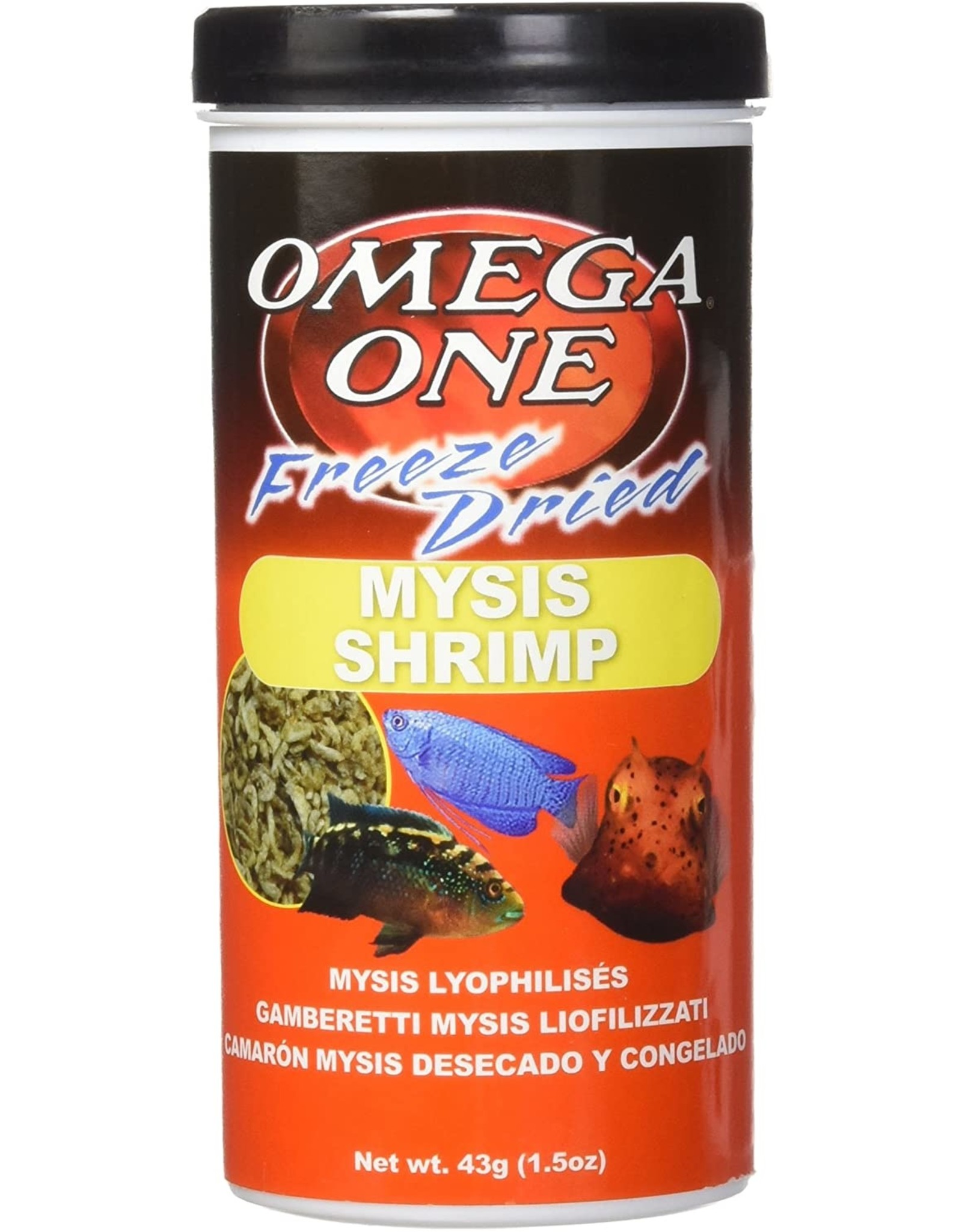 Omega One Food OMEGA ONE Freeze Dried Mysis Shrimp