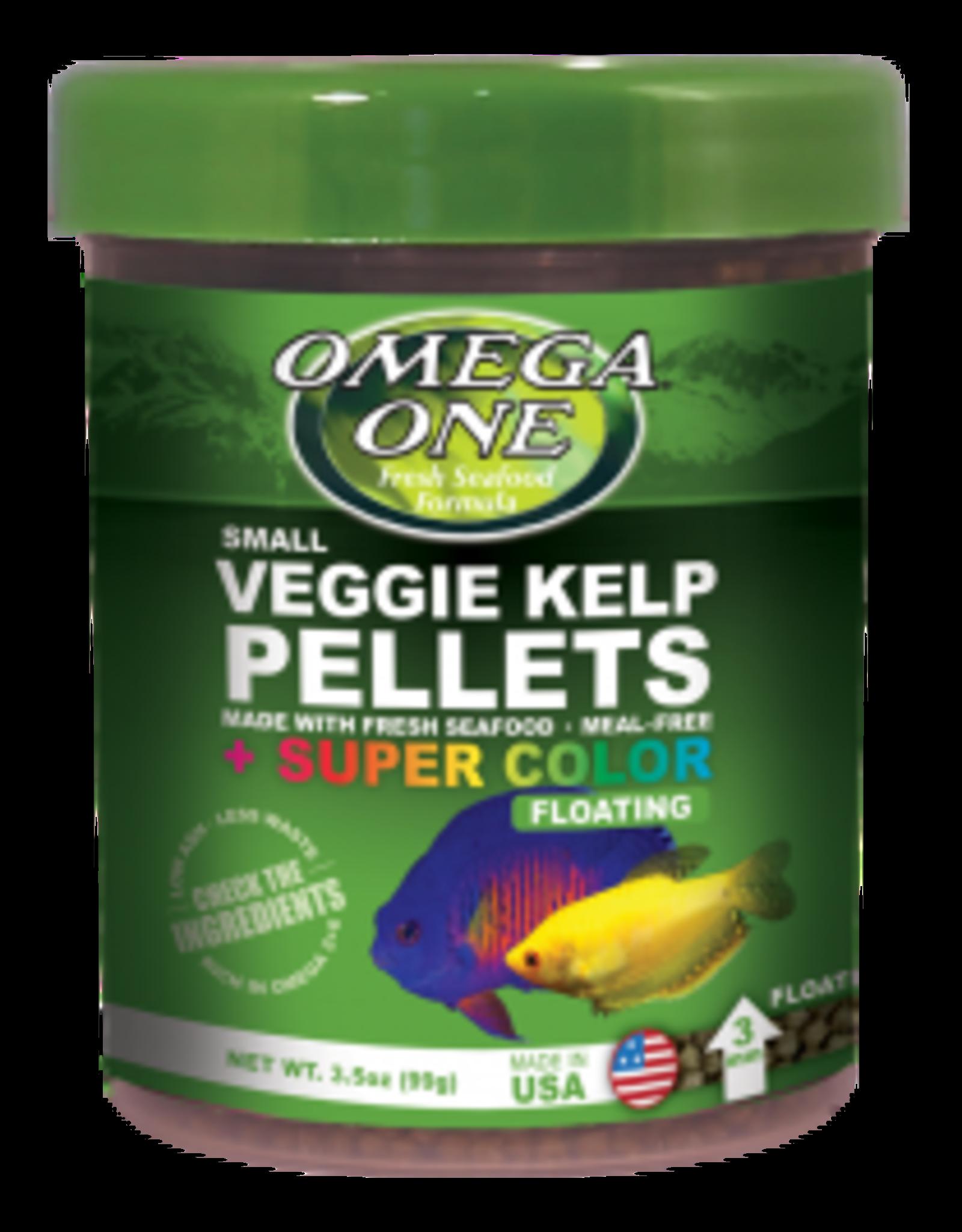 Omega One Food OMEGA ONE Super Colour Veggie Kelp Pellets Floating