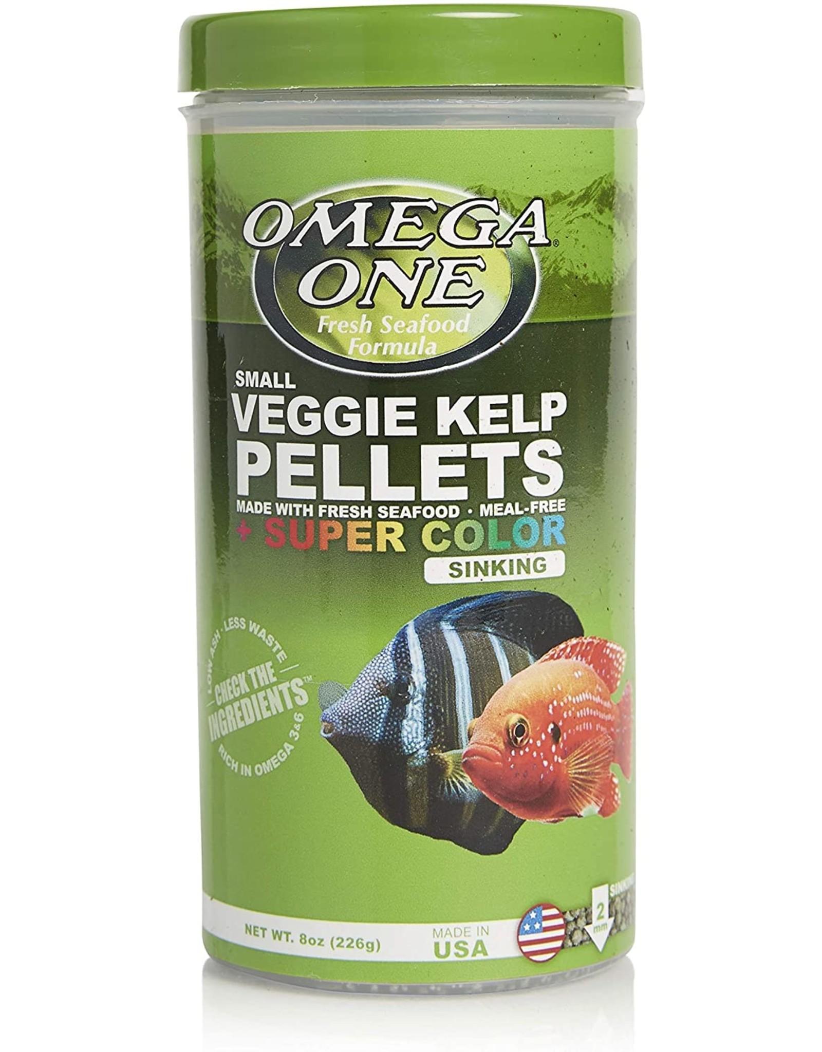Omega One Food OMEGA ONE Super Colour Veggie Kelp Pellets Sinking 8oz