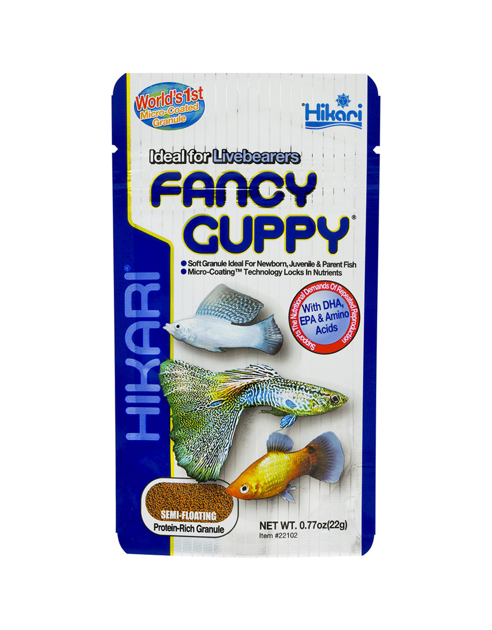 Hikari Sales USA, Inc. HIKARI Tropical Fancy Guppy Micro Food .77oz