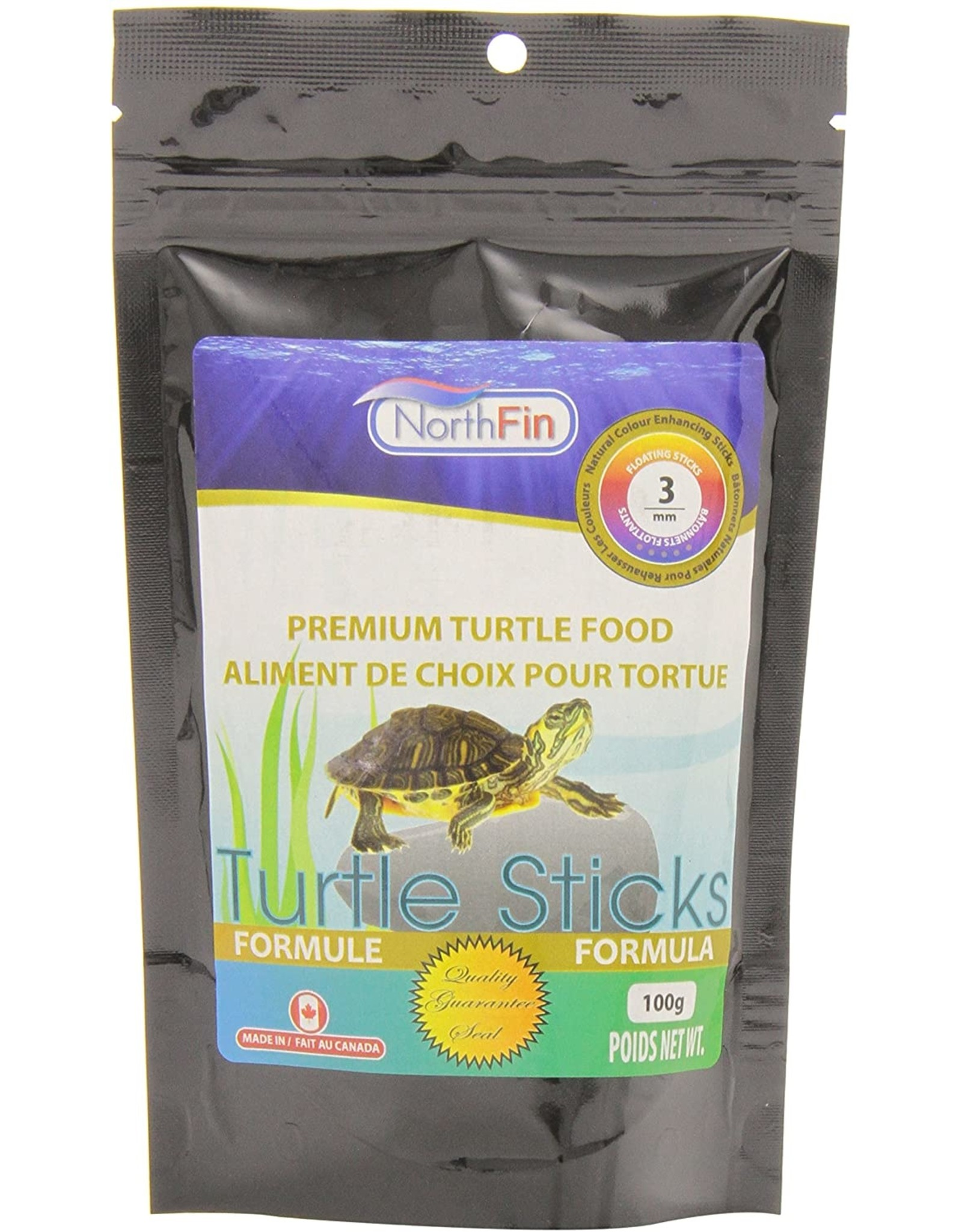 Northfin NORTHFIN Turtle Sticks 100g