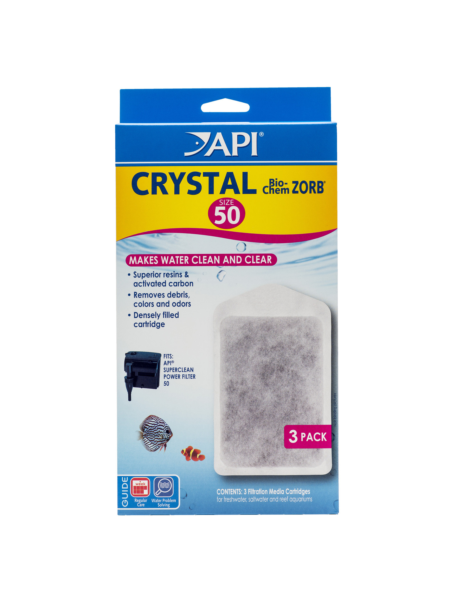 API Products API Crystal Bio-Chem Zorb 50 - 3 Pack