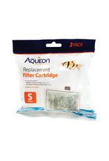 Aqueon AQUEON Filter Cartridge Small 3 Pack