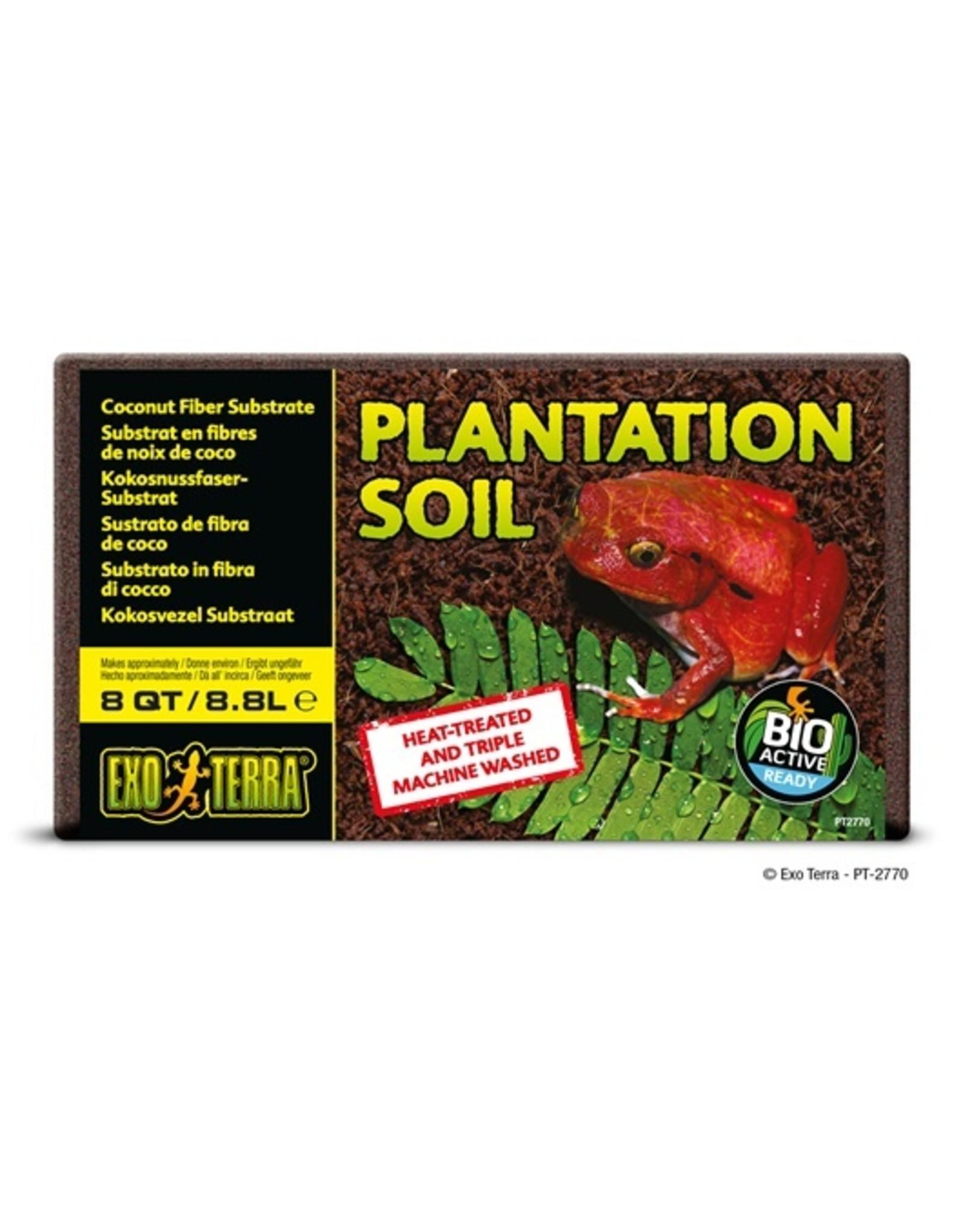 Exo Terra EXO TERRA Plantation Soil Substrate Brick