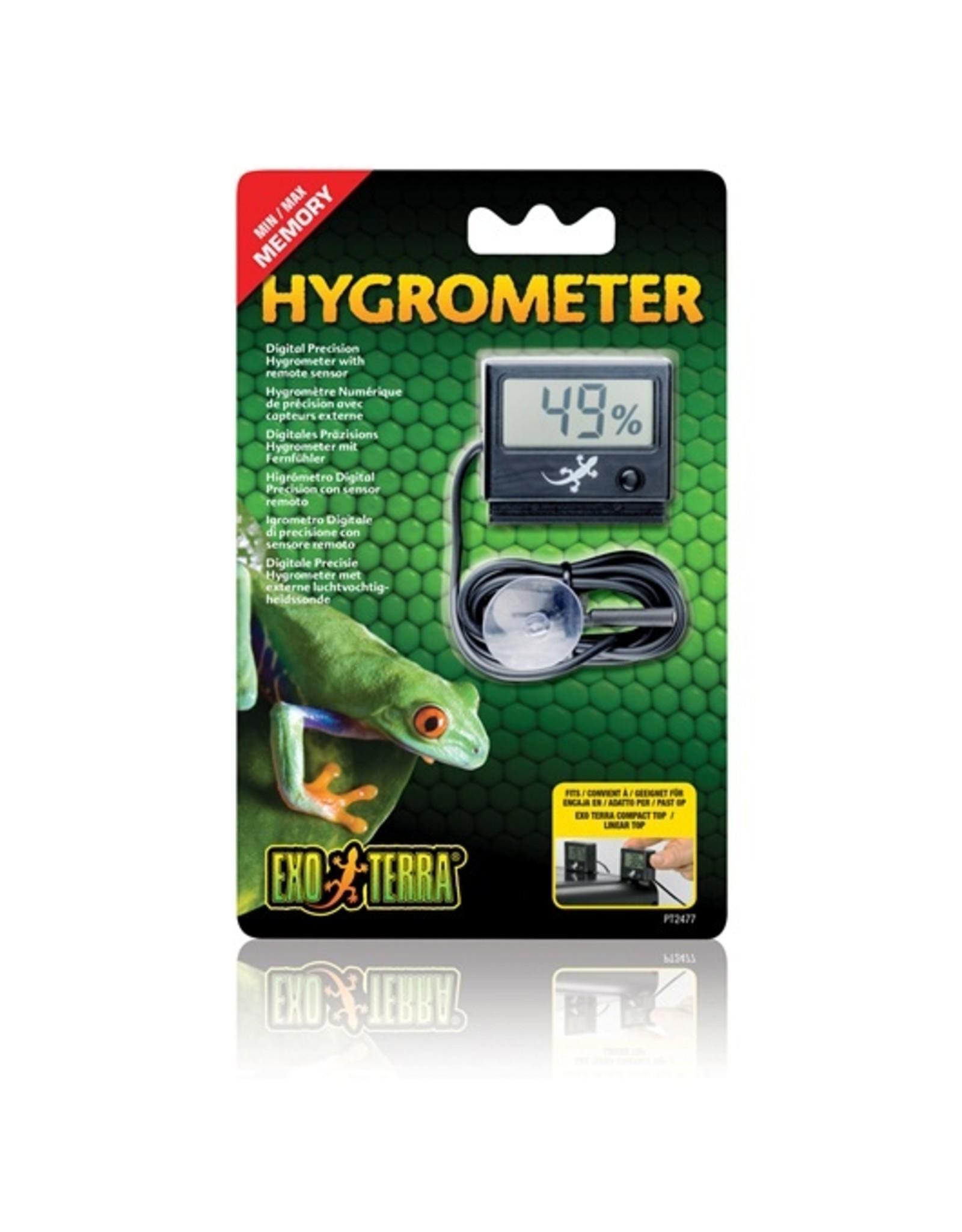 Exo Terra EXO TERRA LED Rept-O-Meter Hygrometer