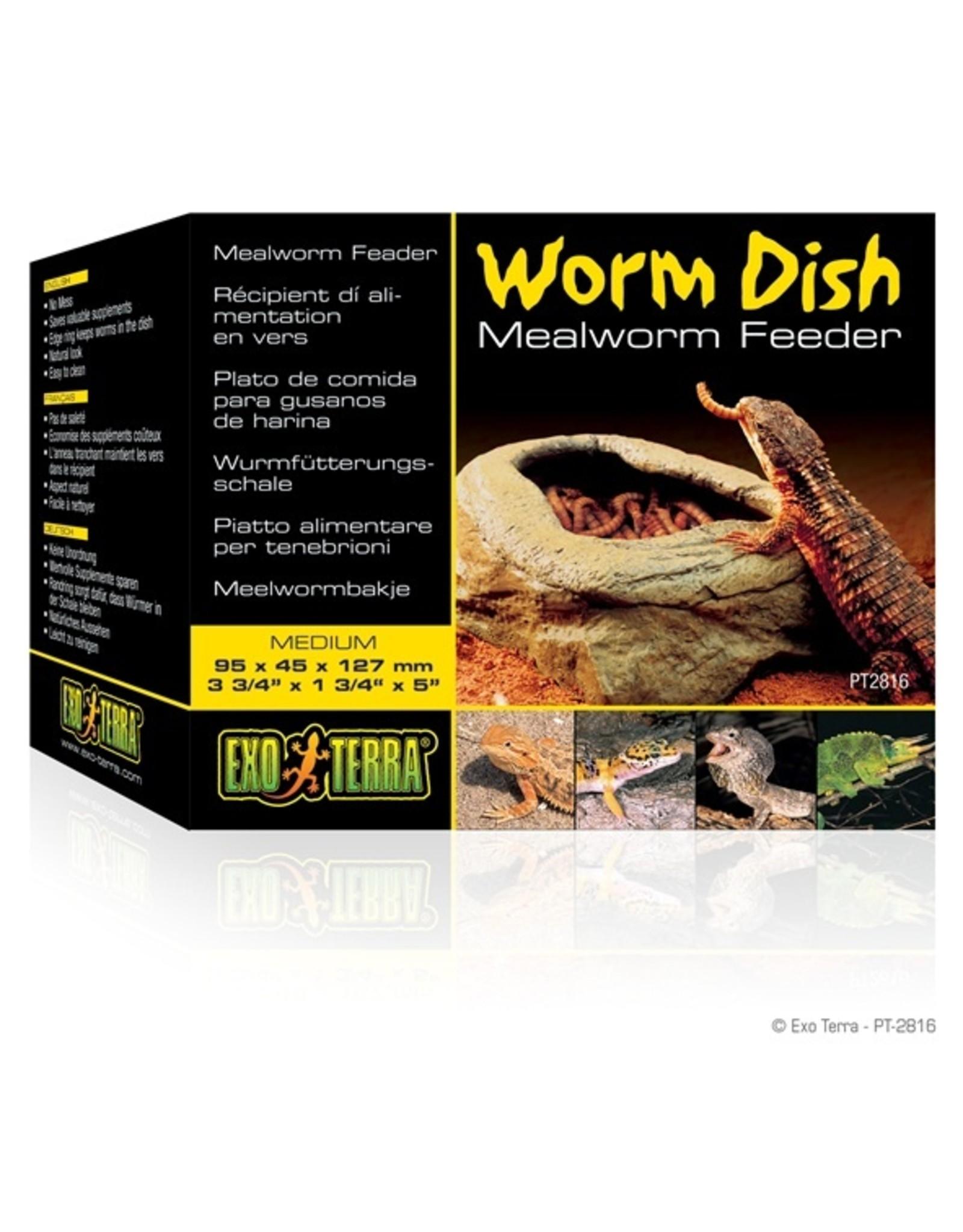 Exo Terra EXO TERRA Worm Feeder Dish