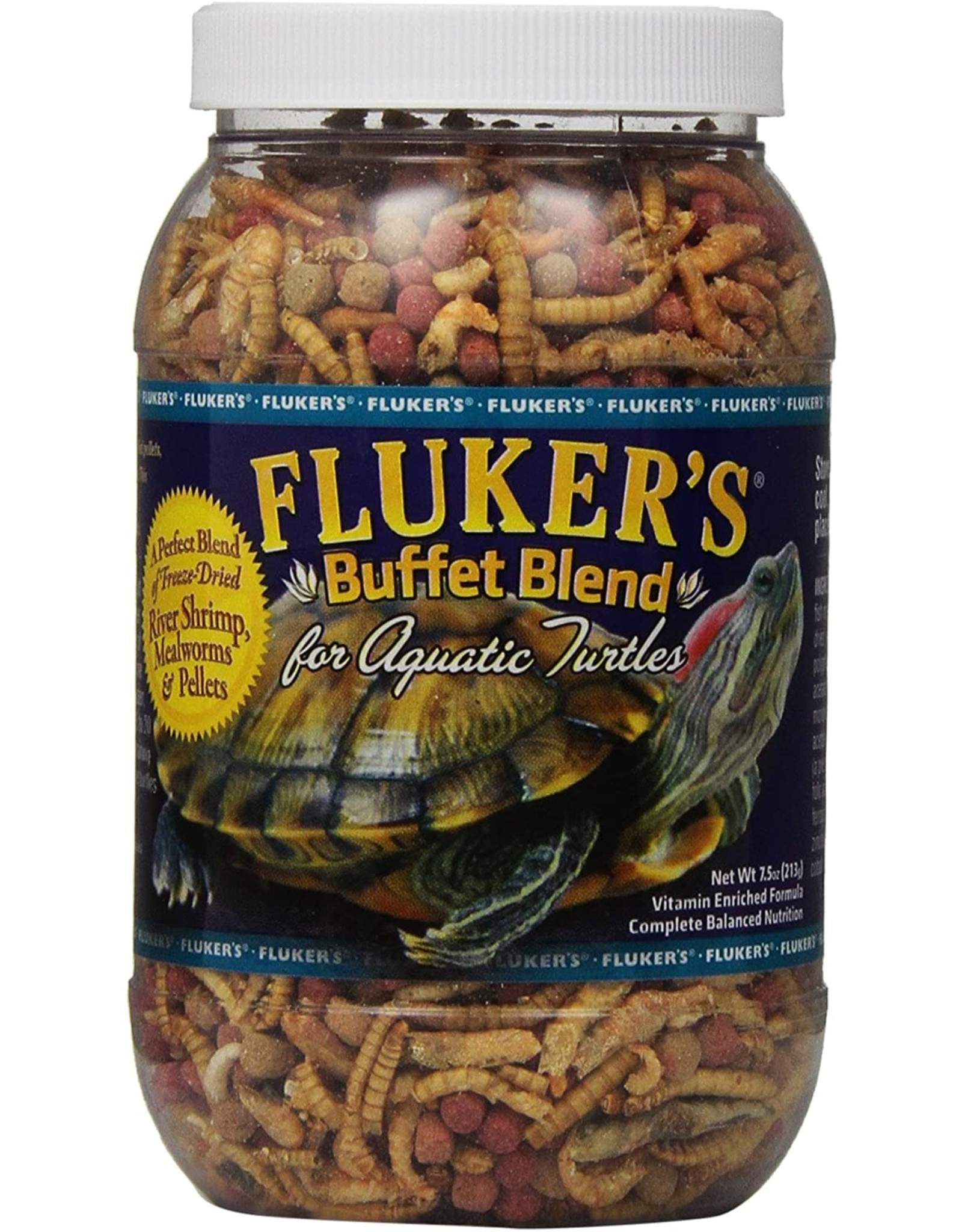 Fluker's Fluker's Buffet Blend Aquatic Turtle Formula 7.5 ounce