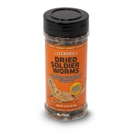 Fluker's Fluker's Dried Soldier Worms 2.2 oz.