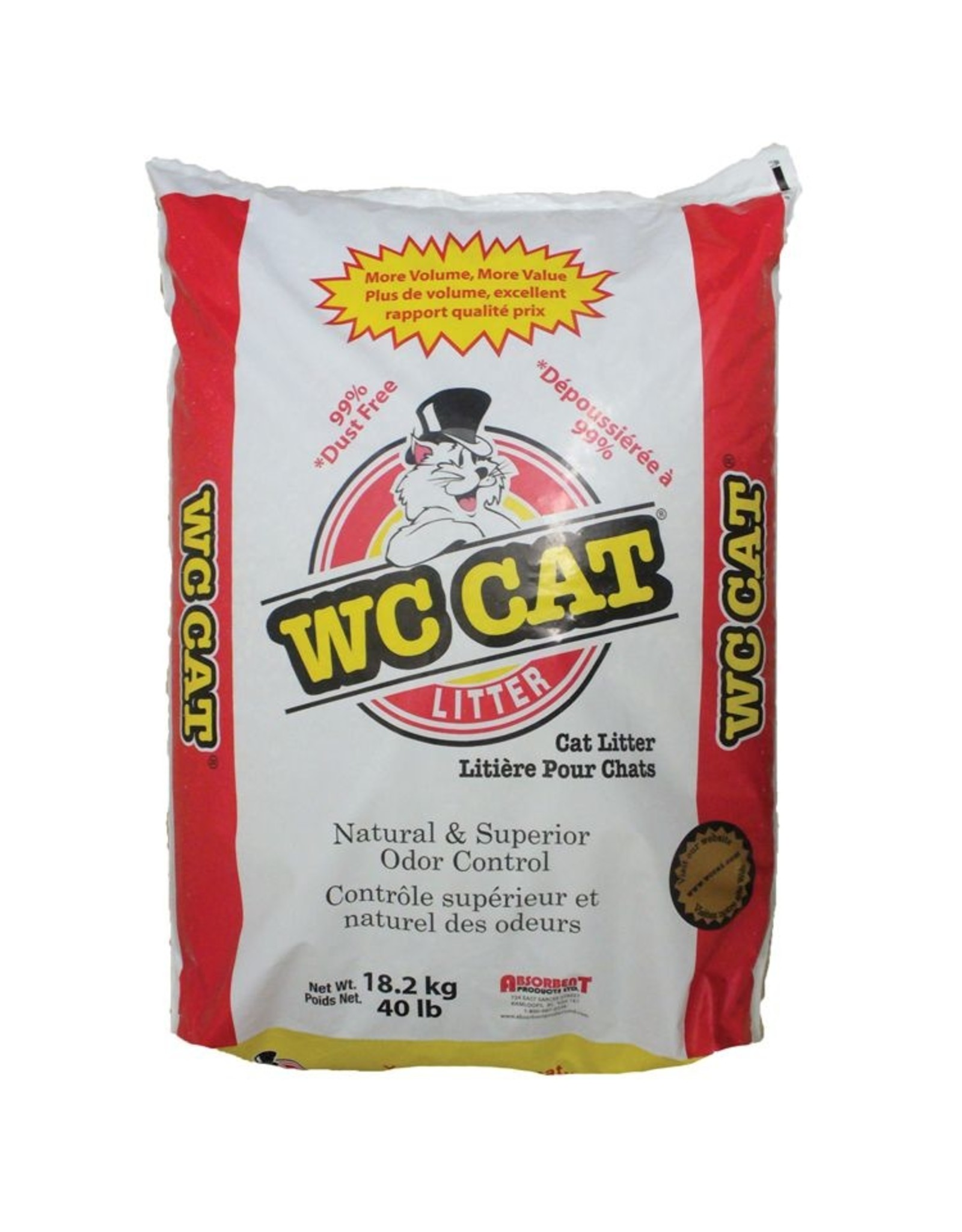 WC Cat Litter