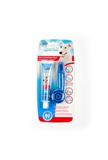 ALL FOR PAWS Sparkle Palm Assisted Brush & Peanut Toothpaste