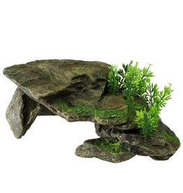 Aqua Della AQUA DELLA Stone w/Plants Grey