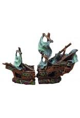 Burgham Aqua-Fit AQUA-FIT Polyresin Shipwreck (2 piece)