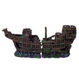 Burgham Aqua-Fit AQUA-FIT Polyresin Viking Shipwreck