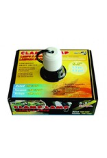 Burgham Repti-Fit REPTI-FIT Black Dome Clamp Lamp