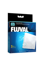 Fluval FLUVAL Poly Foam Pad Replacement 3 Pack