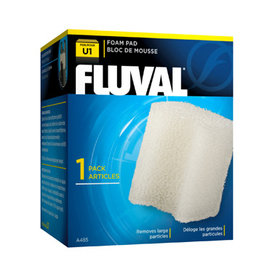 Fluval FLUVAL Underwater Filter Cartridge U1 Foam Pad Single