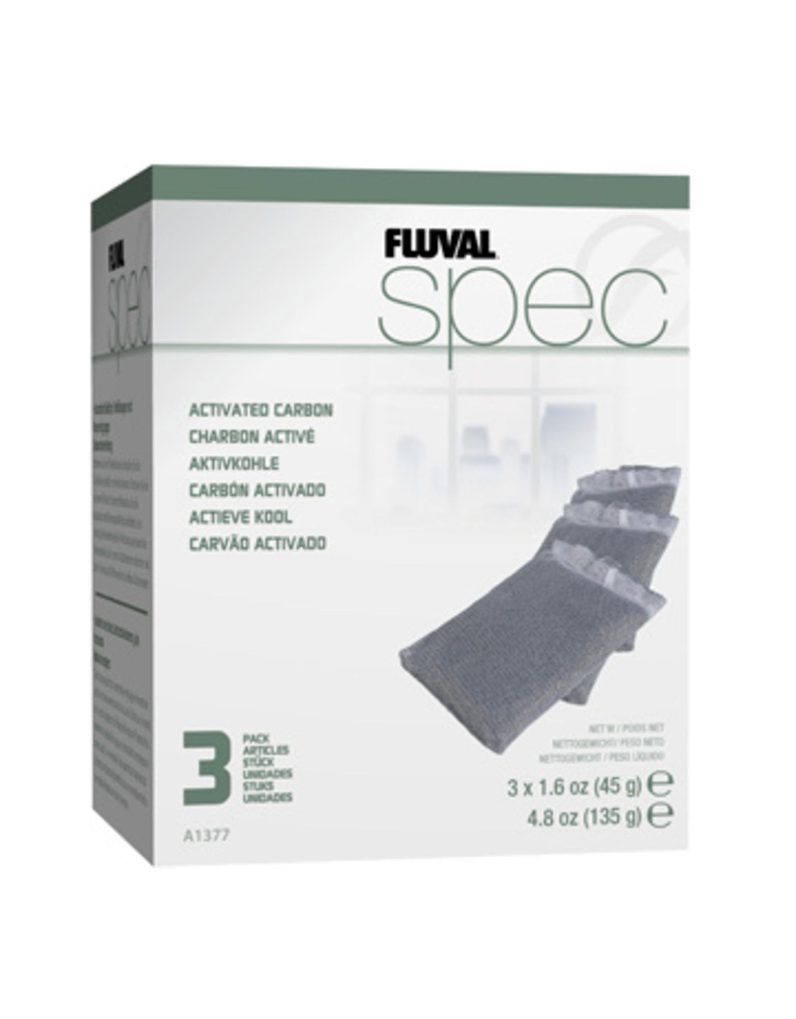 Fluval FLUVAL SPEC/EVO/FLEX Activate Carbon 3 Pack